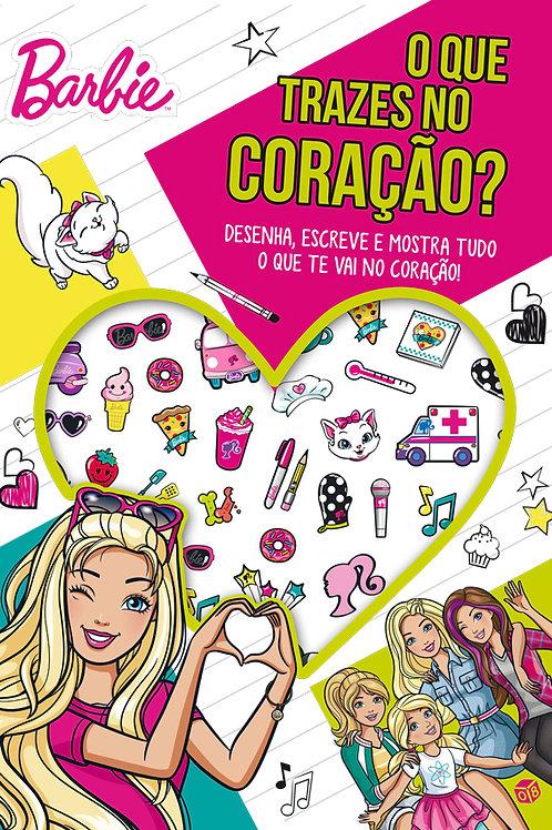 Barbie - O que trazes no coração?: Livro de atividades c/ oferta de autocolantes