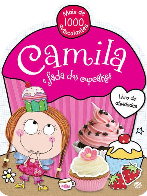 Camila, a fada dos cupcakes - Livro de Atividades com Autocolantes