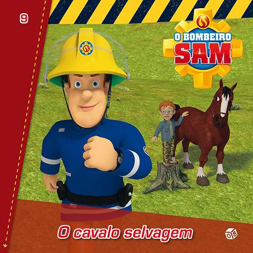 O Bombeiro Sam - O cavalo selvagem: Livro de histórias