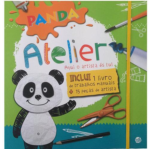 Panda - Livro de atividades: Panda Atelier aqui o artista és tu!