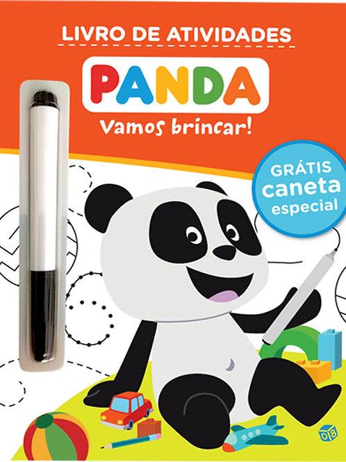 Panda - Vamos brincar: Livro de atividades com oferta de caneta especial