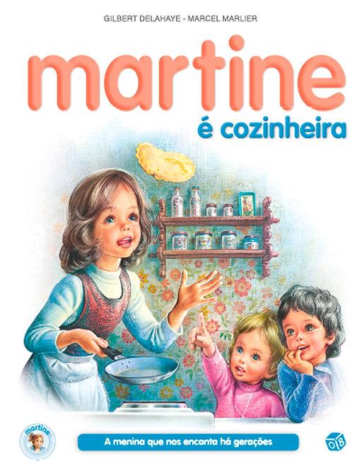 Martine é cozinheira: Livro de histórias