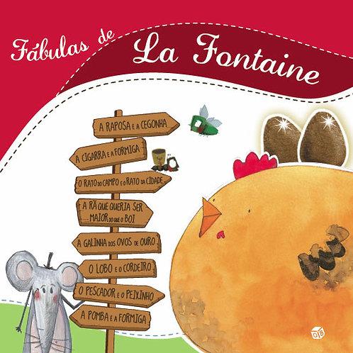 Fábulas de La Fontaine: Livro de Histórias