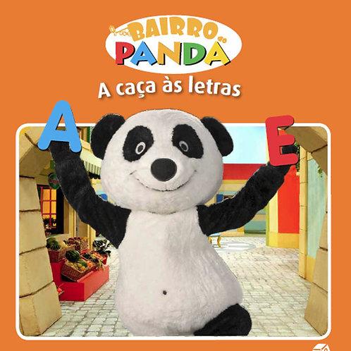 Bairro do Panda - Livro de Histórias: A caça às letras