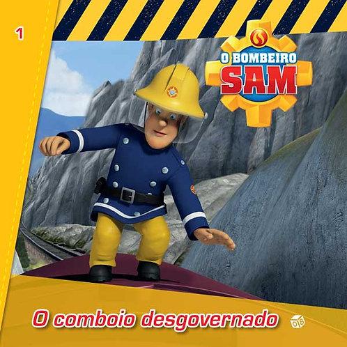 O Bombeiro Sam - O comboio desgovernado: Livro de histórias
