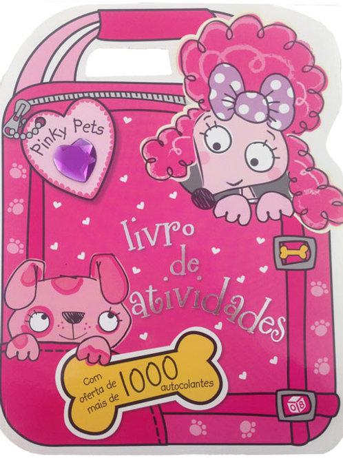 Pinky Pets - Livro de Atividades com oferta de autocolantes