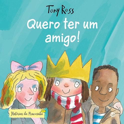 Histórias da Princesinha ― Quero ter um amigo!: Livro de histórias