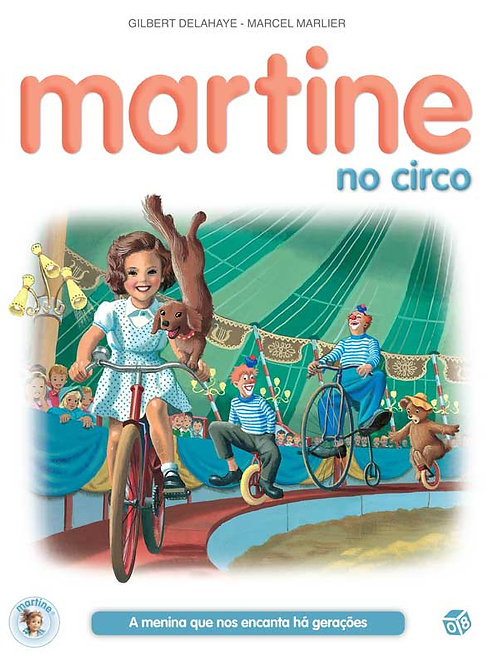 Martine no circo: Livro de histórias