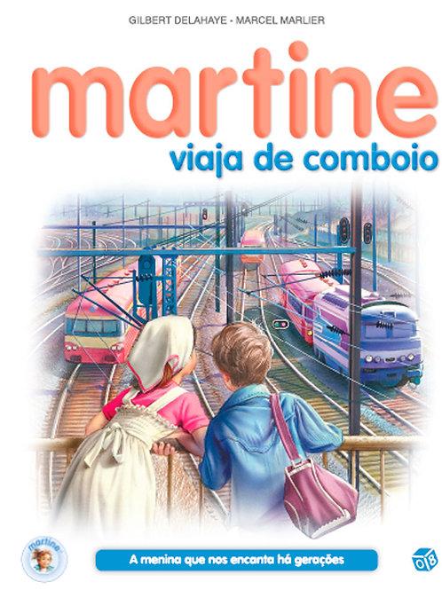 Martine viaja de comboio: Livro de histórias