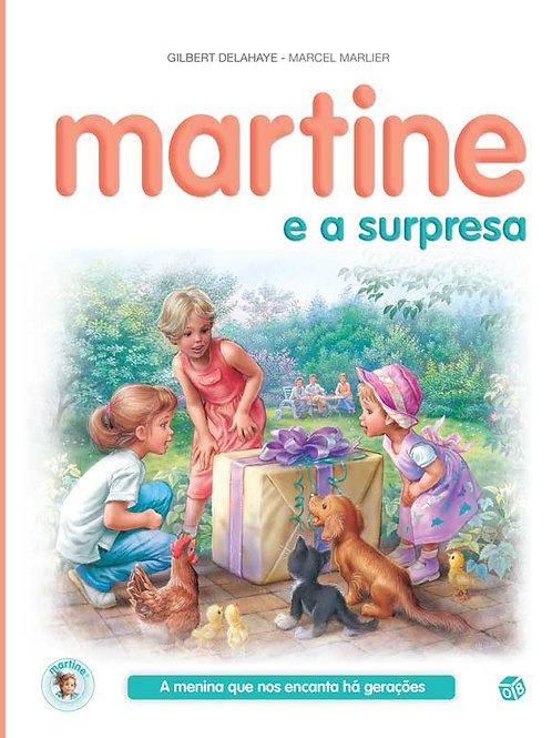 Martine e a surpresa: Livro de histórias