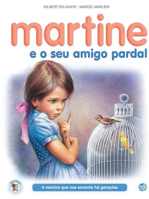 Martine e o seu amigo pardal: Livro de histórias