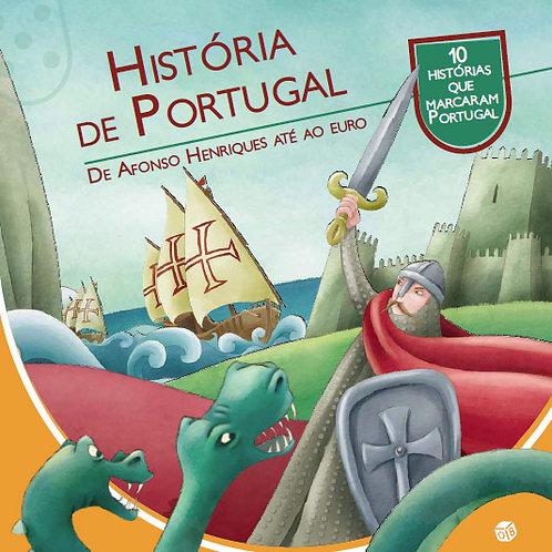 História de Portugal - De Afonso Henriques até ao euro: Livro de histórias