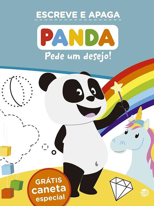 Panda - Pede um desejo! Livro de atividades com oferta de caneta especial