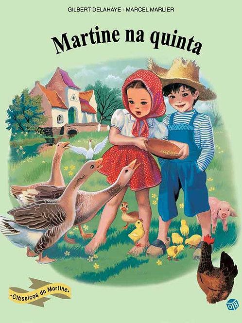 Martine Clássicos - Martine na quinta: Livro de histórias