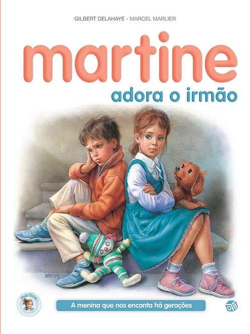 Martine - Livro de histórias: Martine adora o irmão