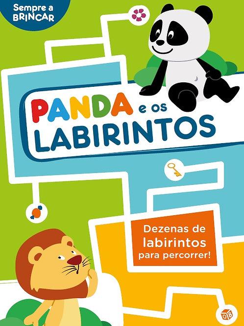 Panda e os labirintos: Livro de atividades