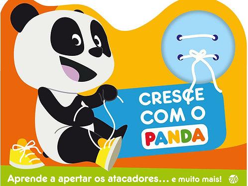 Cresce com o Panda: Livro com atacadores