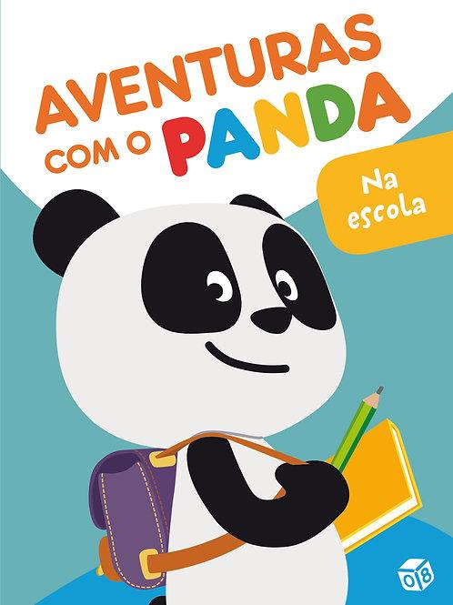 Aventuras com o Panda - Na escola: Livro de histórias