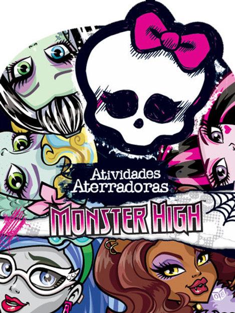 Monster High-Atividades Aterradoras: Livro de atividades c/ oferta autocolantes