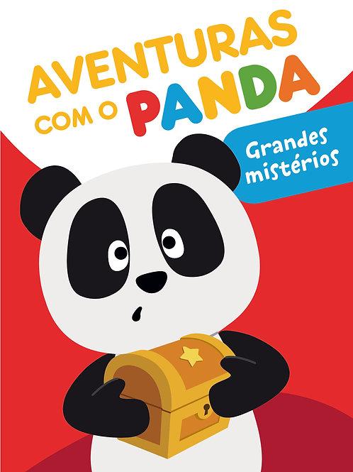 Aventuras com o Panda - Grandes mistérios: Livro de histórias