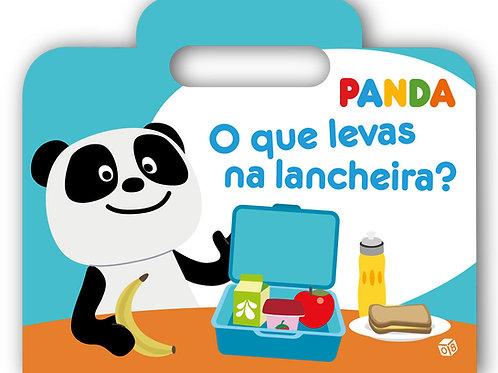 Panda - O que levas na lancheira?: Livro de histórias