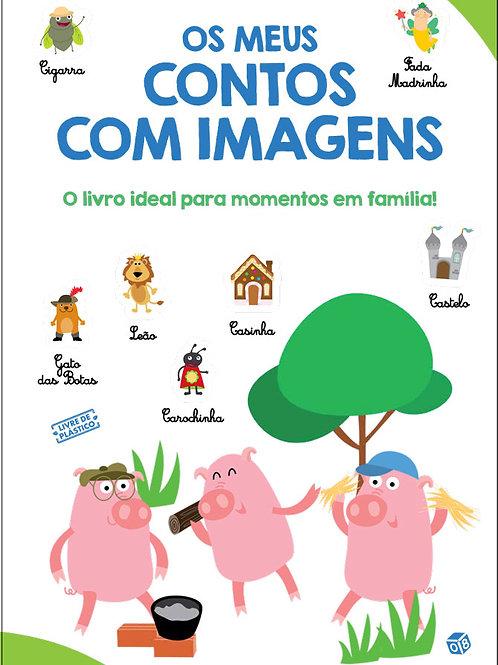 Os meus contos com imagens: Livro de histórias