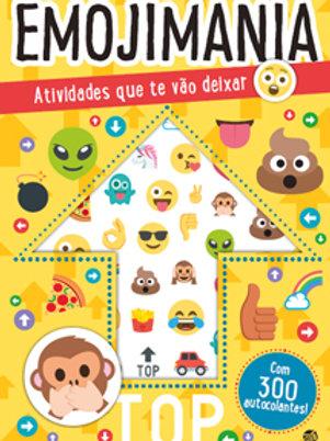 Emojimania - Atividades que te vão deixar maluco: Livro de atividades