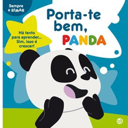Porta-te bem, Panda: Livro de histórias com oferta de quadro e autocolantes