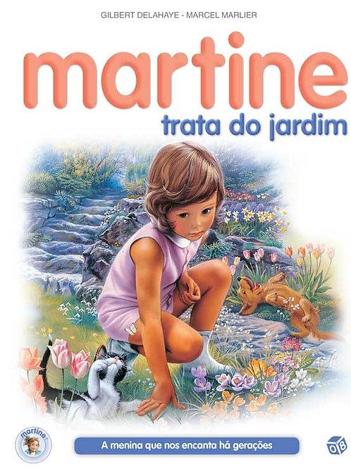 Martine trata do jardim: Livro de histórias