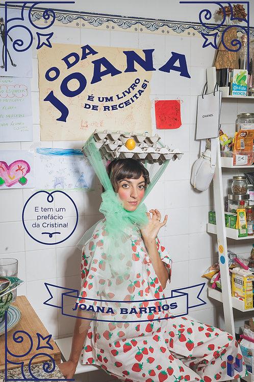 O da Joana: É um livro de receitas!