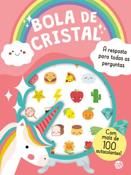 Sweet World - Bola de cristal: Livro de atividades com oferta de autocolantes