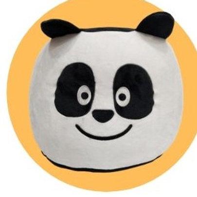 Panda – Pufe insuflável com oferta de bomba de encher