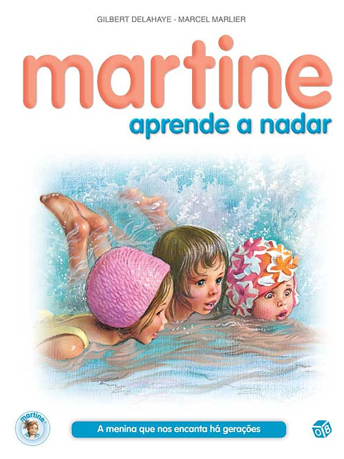 Martine aprende a nadar: Livro de histórias