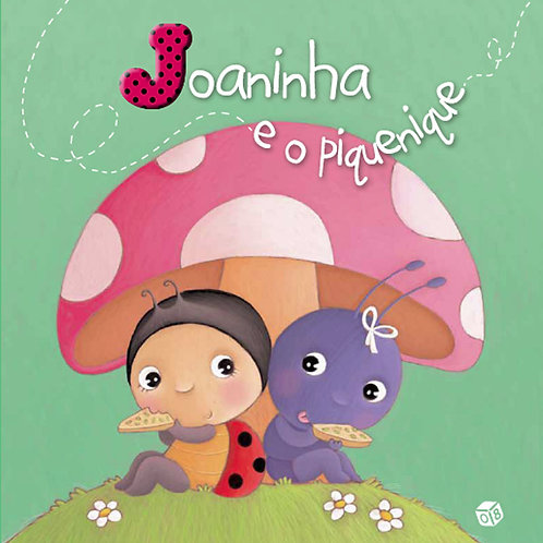 Livro de Histórias - Joaninha e o Piquenique