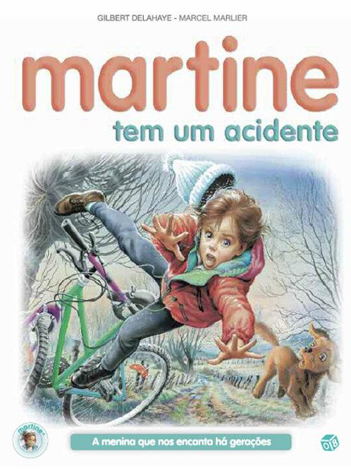 Martine tem um acidente: Livro de histórias