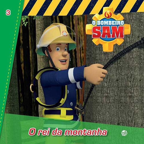 Bombeiro Sam -O rei da montanha: Livro de histórias