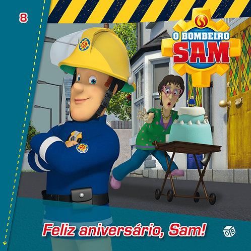 O Bombeiro Sam - Feliz aniversário, Sam!: Livro de histórias