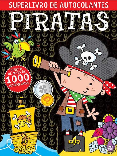 Superlivro de autocolantes para piratas: Livro de atividades