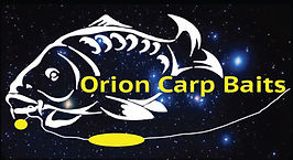 Orion Carp Baits logo with Orion back ground no website.j