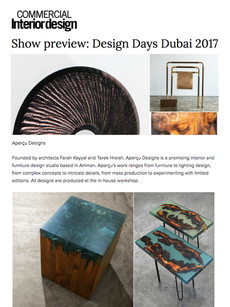 Commercial Interior Design '17
