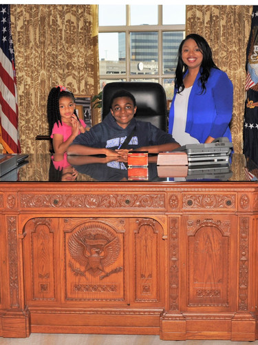 Nedra's Family at the George W. Bush Presidential Library
