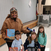 Deer Creek Literacy Night with the Pinon Triplets