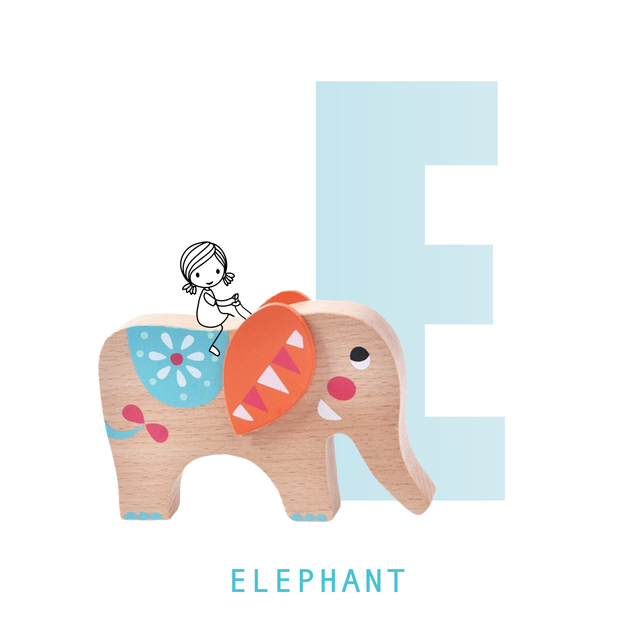 Amelie's ABC of Favorites Letter E