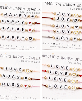Happy Days of Amelie Line of Amelie's Happy Jewels, handmade jewelry
