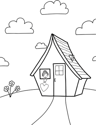 Coloring Page House.png