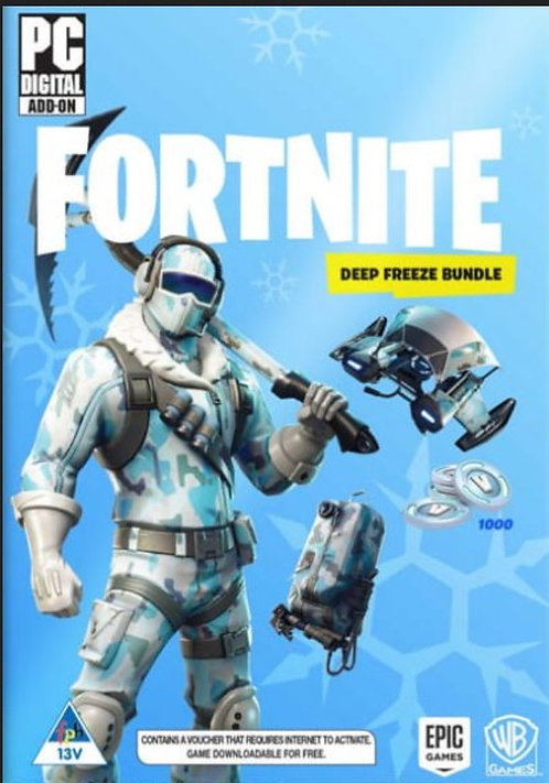 Fortnite Deep Freeze Bundle Digital game PC Windows