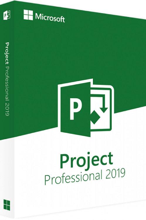 Microsoft Project 2019 Professional Plus per PC Windows