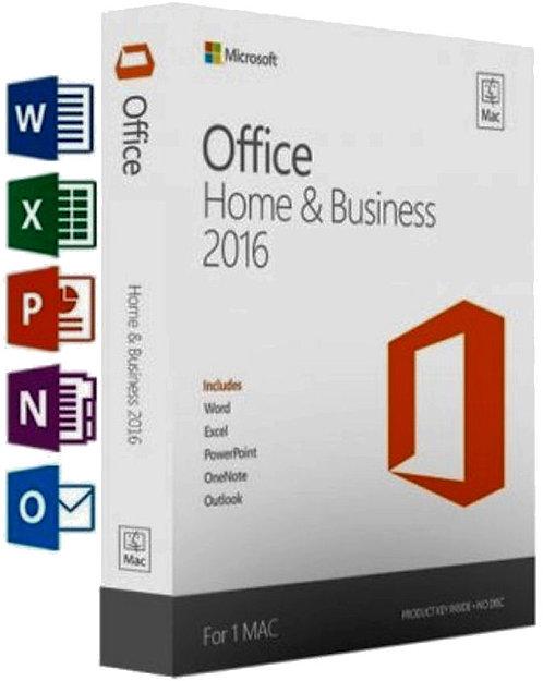 Microsoft Office 2016 Home e Business per 1 Mac® Yosemite