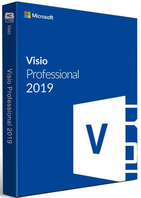 Microsoft Visio 2019 Professional Plus per PC Windows
