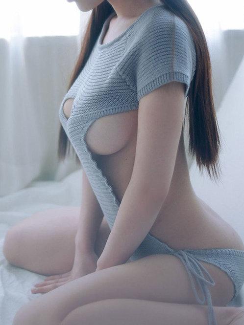Maglione per donna sexy lavorato a maglia